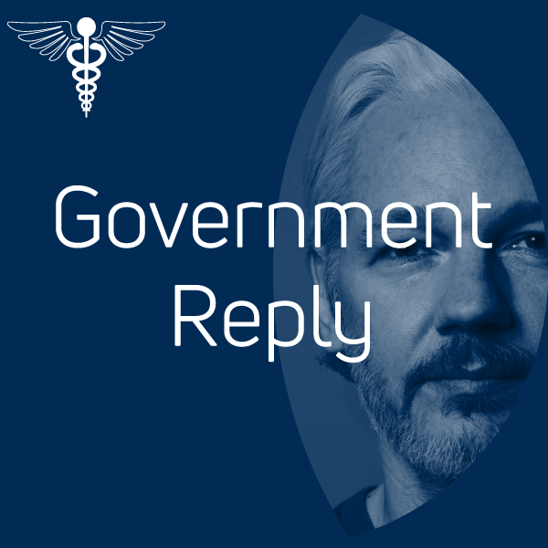 Australian Government reply to Doctors for Assange - February 2020